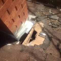 Chimney & Roof Damage